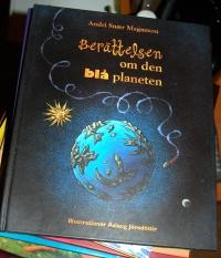 Berättelsen om den blå planeten - framsida