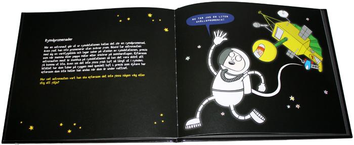 om rymden för barn