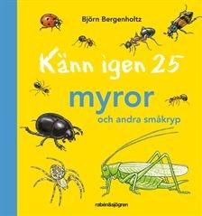 kann igen 25 myror och andra smakryp