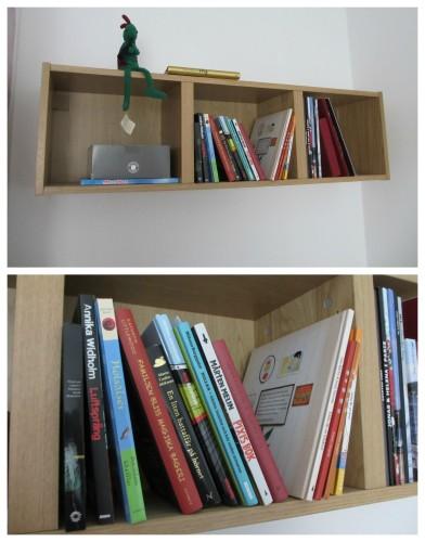 Min att-göra-bokhylla