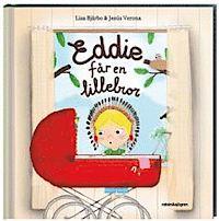 Eddie får en lillebror - omslag