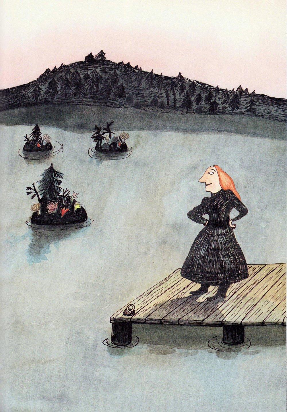 Annie från Sjön Kitty Crowther