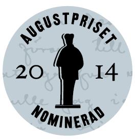 Augustpriset nominerad 2014 logo