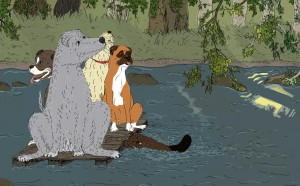 Hundarna på älven