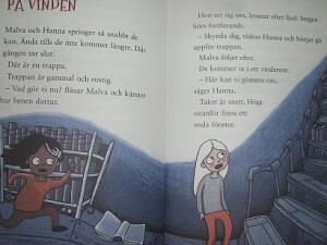En charmigt mörk-illustrerad och alldeles  lagom spännande  spökhistoria  för den som kan läsa skapligt 19c8ab1044be3