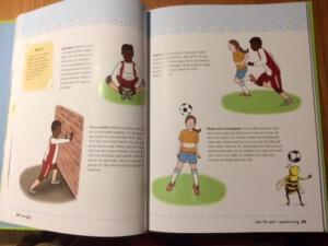Exempel ut boken Lär dig spela fotboll