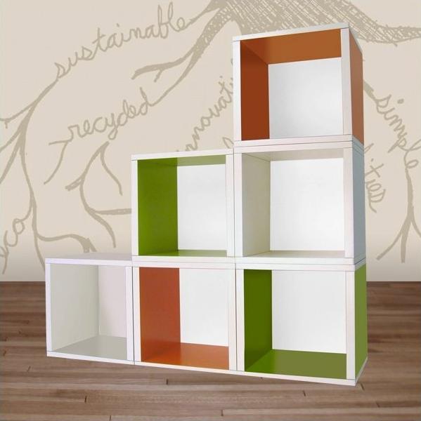 Dagens bokhylla Bygg den själv av pappersboxar u2013 Barnboksprat