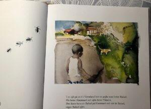 Bild på Rafael från boken